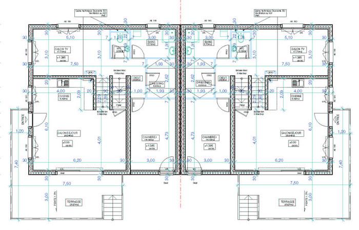 plan 2 appartement